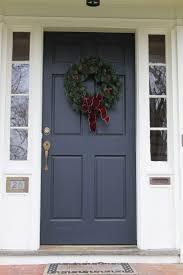 Best Front Door Colors Front Doors Appealing Blue Grey Front Door Blue Grey Paint For