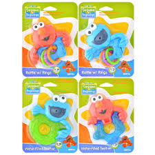 baby toy rings images Bulk sesame street sesame beginnings rattles and teethers at jpg