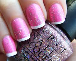 a modern twist of french manicure i love these nails prom