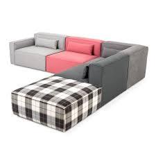 Gus Modern Sofa Mix Modular 5 Pc Sectional Sectionals Gus Modern