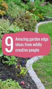 Small Backyard Flower Garden Ideas Best 25 Edging Ideas Ideas On Pinterest Industrial Lawn And