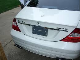 mercedes license plate holder mounting amg license plate frame mbworld org forums