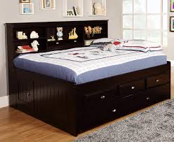 bedroom sets full beds discovery world furniture espresso full captain day beds kfs stores