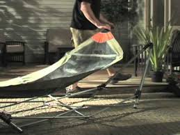 portable folding hammock youtube