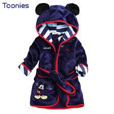 robe de chambre avec capuchon vente chaude enfants à capuchon peignoir serviette bébé garçons