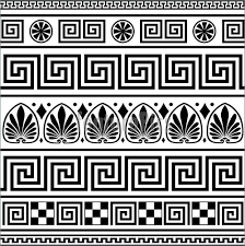 abstract patterns set of vector ornaments stock