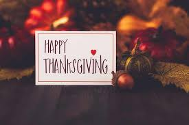 four thanksgiving themed bulletins to be grateful for