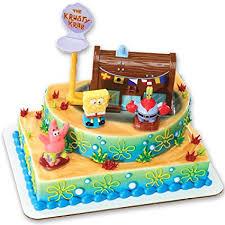 spongebob birthday cake spongebob squarepants krusty krab signature decoset