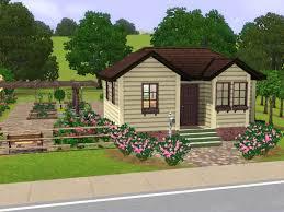 parsimonious the sims 3 houses lovely farm house 16 vitrines