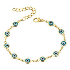 evil eye hand bracelet images Heart of charms red blue evil eyes bracelets hamsa jpg