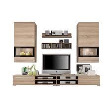 Wohnzimmerschrank Schwarz Anbauwand Modern Faszinierende Auf Wohnzimmer Ideen Plus