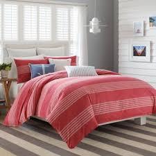 Pink Striped Comforter Buy Red Stripe Comforter Set From Bed Bath U0026 Beyond
