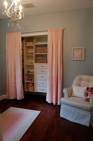 Curtains As Closet Doors Closet Curtain Ideas Best 25 Closet Door Curtains Ideas On