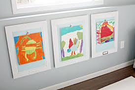 how to hang art prints without frames 54eb69651565d kids artwork jennifer jones xln 84637892 art display