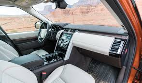 land rover lr4 interior 3rd row 2017 land rover discovery the new king of the suv hill 95 octane