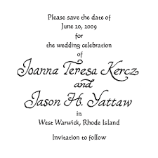 save the date exles formal invitation date wording choice image invitation sle