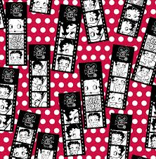 licensed flannel fabric betty boop joann