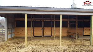 10 Stall Horse Barn Plans Horse Barn Pole Building In Pittsgrove New Jersey Tam Lapp
