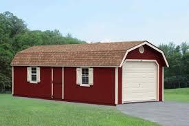 single car garages hillside structures