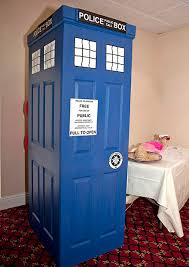 how to make a photo booth make a diy tardis themed photo booth
