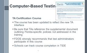 test chairperson u0027s orientation ppt download