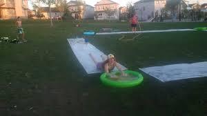 Backyard Slip N Slide Ackroyd House Slip N Slide Kick Ball