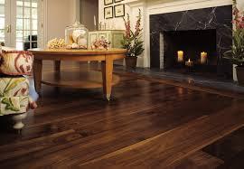 walnut wide plank floor traditional living room york