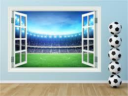 football stadium window kids huge wall art sticker decal mural zoom