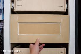 How To Make Shaker Style Cabinets Build Shaker Style Drawer Front Twofeetfirst