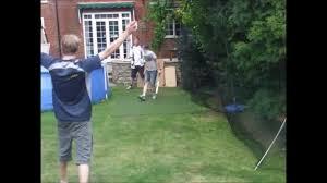 good bowling first day backyard cricket 2014 youtube
