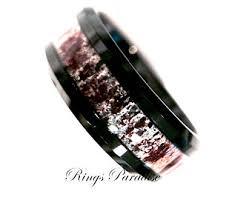Mens Wedding Rings Tungsten by Antler Rings Rose Gold Deer Antler Ring Men U0027s Tungsten