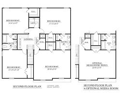 3 Bed 2 Bath House Plans Floor Plans Ferro Building Company Llc 5 Bedroom 3 1 2 Bath Floor