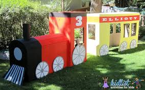 Backyard Trains For Sale by How To Make A Cardboard Train Kidlist U2022 Activities For Kids