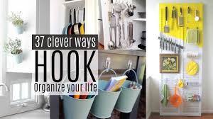 Clever Home Decor Ideas 37 Organizing Ideas With Command Hooks Youtube