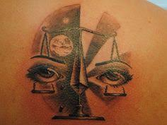 tons of libra tattoos the scales of justice zodiac
