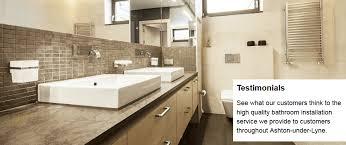 testimonials for watermark bathrooms in ashton under lyne