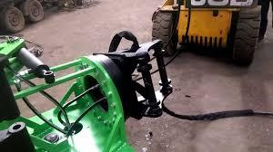 rsl new worm drive 360 degree rotator test on tree shear