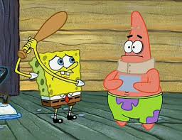 every paint comes off with something spongebob