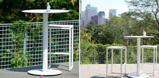 Tall Patio Tables 12 Modern Outdoor Furniture Finds