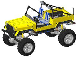 jeep instructions trial jeep technic mindstorms model team eurobricks forums