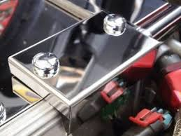 corvette stainless creations corvette c4 1990 1991 polished map sensor cover w chrome caps