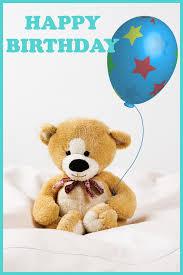 happy birthday teddy bear cards jerzy decoration