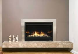 gas fireplace contemporary closed hearth built in aspect premium