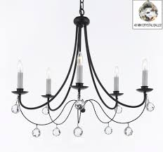 Country French Chandelier by A7 B16 B6 403 5 Gallery Swag Chandeliers Empress Crystal Tm