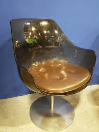 champagne chairs by erwine u0026 estelle laverne set of 6 for sale at