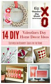 Home Decorating Diy Ideas by Valentine U0027s Day Home Decor 14 Beautiful Diy Ideas