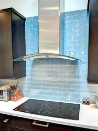 pictures of glass tile backsplash in kitchen glass tile backsplash kitchen cool blue gray metro subway tile