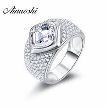 aliexpress buy 2ct brilliant simulate diamond men buy brilliant cushion cut and get free shipping on aliexpress