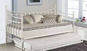 White Metal Daybed Daybed Versailles French Metal Day Bed With Free Guest Pull Out