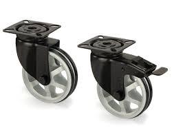 design m belrollen industrie design stahlblechrollen mit aluminiumspeichenrädern in